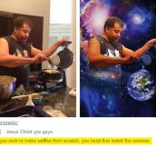 DeGrasse Tyson Cooking