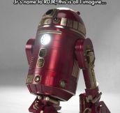 Iron R2D2