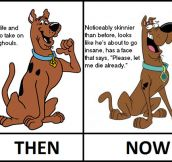 Scooby Doo's New Look Is Just Not The Same