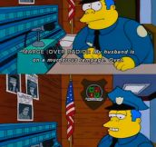 How I Imagine The Cops In My Relatively Small Town