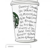 Daenerys Goes To Starbucks