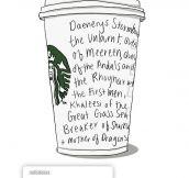 Daenerys Goes To Starbucks