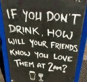If You Don't Drink