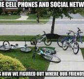 Life Before Cell Phones