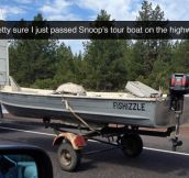 Snoop's Tour Boat