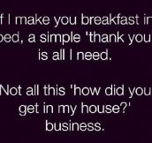 Just A Simple Thank You