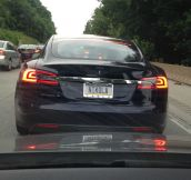 My Favorite Tesla Plate
