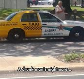 That's A Very Suspicious Taxi