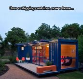 From Container To Home