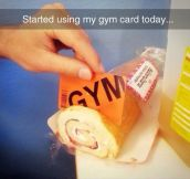 Giving Some Use To My Gym Membership