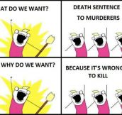 Death Penalty Defies Logic