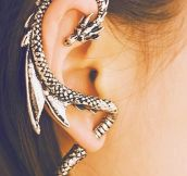 A Very Unique Dragon Earring