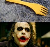A Fork, Knife And Spoon All In One
