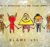 Blame Them