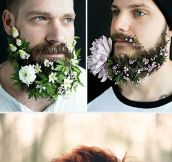 Men With Fabulous Flower Beards
