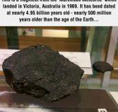 Older Than Earth