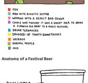 A Music Festival In Charts