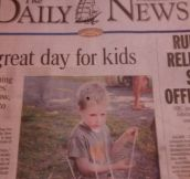 Not A Great Day For Kids After All