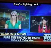 I Hope That Fire Had Home Insurance