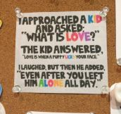 What Is Love For A Kid