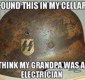 Sure, Electrician…