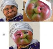 Granny Smith Face