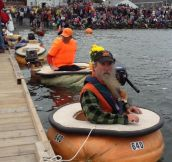 Pumpkin Boat Race