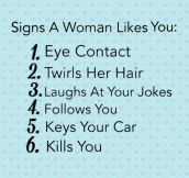 Signs A Woman Likes You