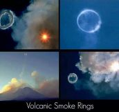 Smoke Rings Sent Into Space