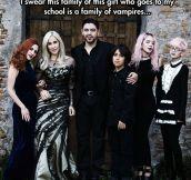 A Modern Addams Family