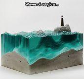 Deep Sea Using Glass Layers
