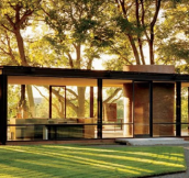 25 Impressive Glass Houses