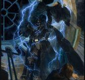 "Star Wars 30th Anniversary ""Redemption"" Poster Art-John Brosio"
