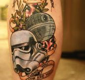 My first Star Wars tattoo.