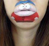 Makeup Artist Laura Jenkinson Turns Her Lips Into Cute Cartoon Characters