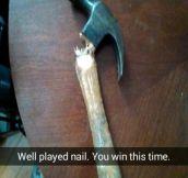 You win nail