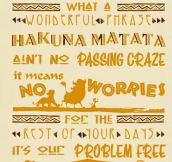 The Hakuna Matata Philosophy
