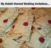 Particular Wedding Invitations