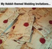Particular Wedding Invitations