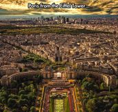Incredible View Of Paris
