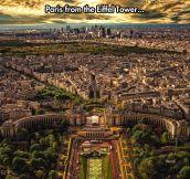 Incredible View Of Paris
