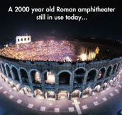 Located In Verona Arena, Italy