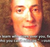 Voltaire And His Wise Quotes