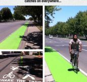 A Great Idea To Encourage Biking