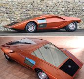 Old Futuristic Car