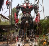 Amazing Optimus Prime Replica