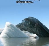 Upside Down Iceberg