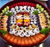 Beautiful Sushi Dish