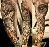 Incredibly Detailed Tattoo