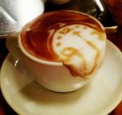 25 Incredibly Brilliant Latte Art